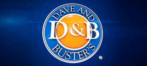 Dave & Busters sponsor